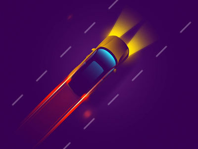 Automotive Illustration Pack vector motiongraphics illustration motion-design after-effects ui8 motion animation