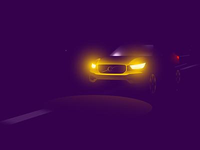 Automotive Illustration Pack II illustration motiongraphics design motion-design after-effects ui8 motion animation