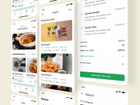 Foodly Ui Kit Presentation I