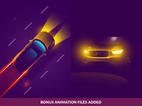 Automotive Illustration Updating