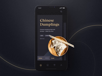 Sheek Food iOS UI Kit III
