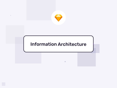 Information Architecture Sketch Kit I user flows sitemap presentation architecture information motiongraphics design ux ui motion-design ui8 after-effects motion animation