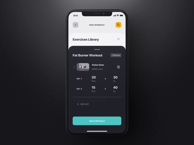 Savage iOS UI Kit III