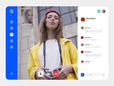 Social Dashboards UI Kit V social app chat app videochat design ux ui motion-design ui8 after-effects motion animation