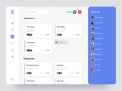 SaaS Dashboard App Starter Kit III ipad desktop motiongraphics ui ux design motion-design ui8 after-effects motion animation