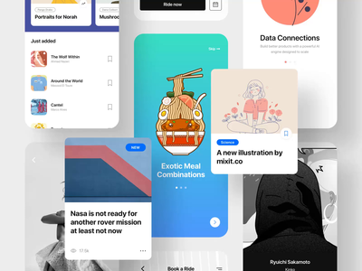 Fabrx Mobile Design System II