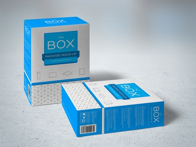 Package Mock-Up black brand box package corporate dark product hand made identity cardboard mock up mock-up