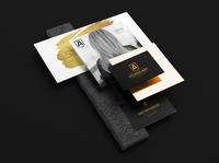 Studio Art Brand Identity brochure typography branding mockup portfolio brand letterhead freebie free business card presentation identity logo showcase mockupcloud stationery download template psd mockup branding