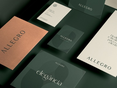 ALLEGRO JOIAS Brand Identity brochure typography branding mockup portfolio brand letterhead freebie free business card presentation identity logo showcase mockupcloud stationery download template psd mockup branding