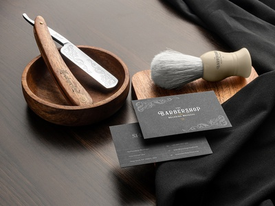 💈 Barbershop Branding Mockups branding mockup portfolio brand freebie bottle business card presentation identity showcase mockupcloud stationery haircut barbershop packaging cosmetics download template psd mockup branding