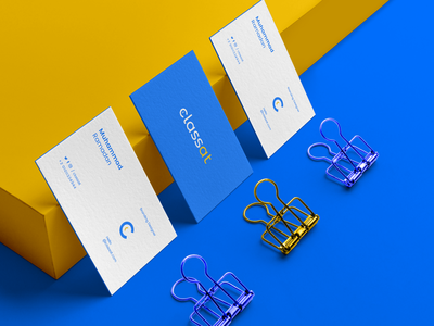 Classat Brand Identity ux-ui ui pack ui sketch template smartphone showcase screen psd presentation mockup mobile app download device branding mockup branding app ios