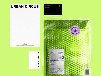 Urban Circus Brand Identity brochure typography branding mockup portfolio brand letterhead freebie free business card presentation identity logo showcase mockupcloud stationery download template psd mockup branding