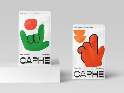 Caphe Coffee Brand Identity brochure typography branding mockup portfolio brand letterhead freebie free business card presentation identity logo showcase mockupcloud stationery download template psd mockup branding