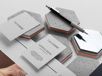Le Cherie // Brand Design brochure typography branding mockup portfolio brand letterhead freebie free business card presentation identity logo showcase mockupcloud stationery download template psd mockup branding