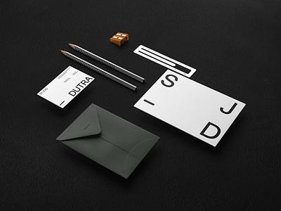 Studio Jacobsen Dutra | Visual Identity brochure typography branding mockup portfolio brand letterhead freebie free business card presentation identity logo showcase mockupcloud stationery download template psd mockup branding