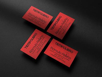Tiempo Libro Brand Identity brochure typography branding mockup portfolio brand letterhead freebie free business card presentation identity logo showcase mockupcloud stationery download template psd mockup branding