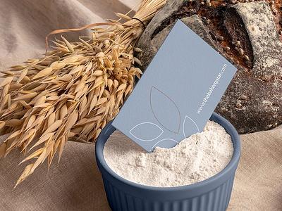 The Baker's Doha Branding mockupcloud packaging bakery logo illustration design identity showcase brand psd branding template mockup