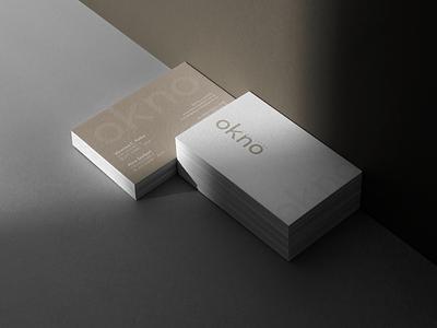 Okno Arquitetos Branding shadow logo illustration design identity showcase brand psd branding template mockup