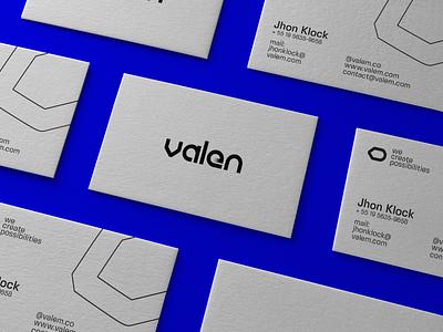 Valen Solar Panels Branding mockupcloud business card freebie free logo illustration design identity showcase brand psd branding mockup branding mockup typography template brochure