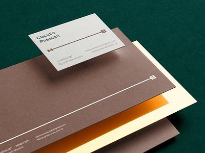 H-Briz Brand Identity logo illustration design identity showcase brand psd branding template mockup