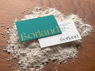 Borland Bakery Branding mockupcloud graphic design logo illustration design identity showcase brand psd branding template mockup