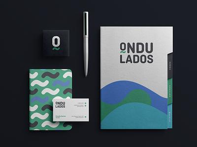 Ondulados Brand Identity mockupcloud graphic design logo illustration design identity showcase brand psd branding template mockup