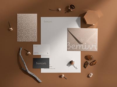 Bemivi Brand Identity mockupcloud graphic design logo illustration design identity showcase brand psd branding template mockup