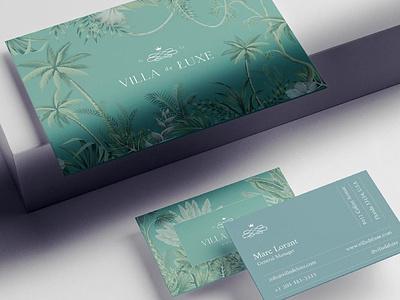 Villa de Luxe Brand Identity mockupcloud graphic design logo illustration design identity showcase brand psd branding template mockup