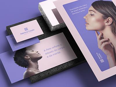 Patrícia Couto — Rebranding mockupcloud graphic design logo illustration design identity showcase brand psd branding template mockup