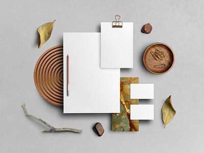 🍂 Branding Mockups Library shadow card letterhead envelope stationery mockupcloud freebie free download logo illustration design graphic design identity showcase brand psd branding template mockup