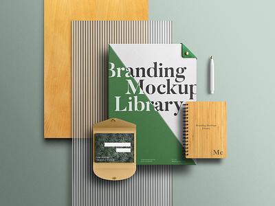 Branding Mockups Library assets download envelope letterhead stationery freebie free mockupcloud graphic design logo illustration design identity showcase brand psd branding template mockup