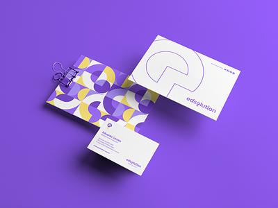 EdSolution Tecnologia Branding download freebie free stationery mockupcloud graphic design logo illustration design identity showcase brand psd branding template mockup