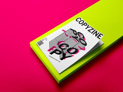 COPYZINE — Zine Cover Design download freebie free mockupcloud graphic design logo illustration design identity showcase brand psd branding template mockup