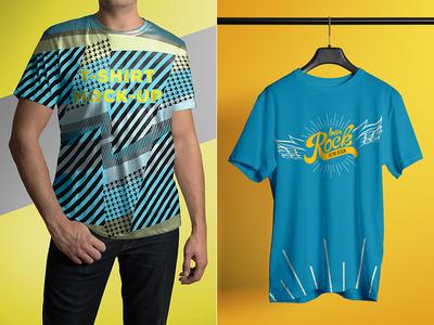 T-Shirt Mock-Up Male Model / Classic Edition