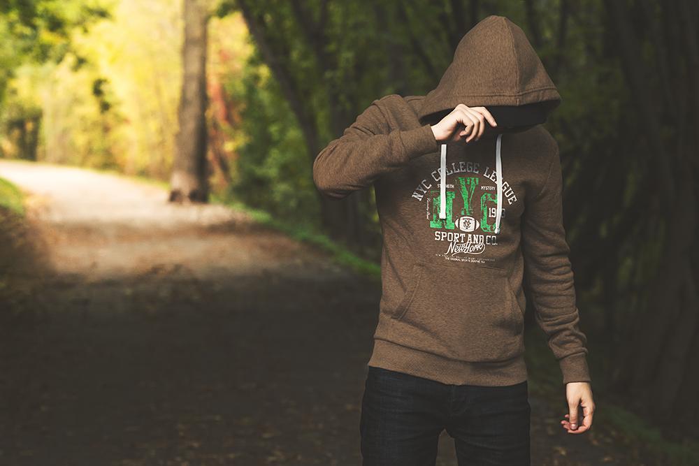 10 hoodie street mockup