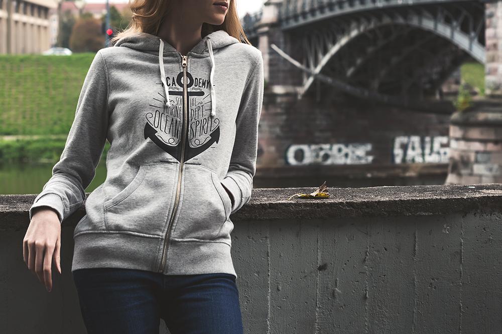 07 hoodie street mockup