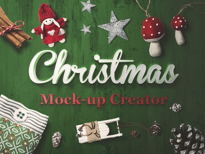 Christmas Mock-Up Creator