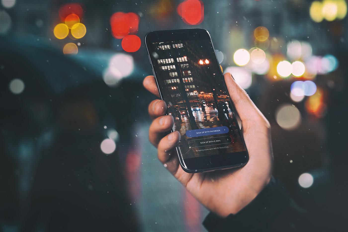 06 android app mockup urban edition