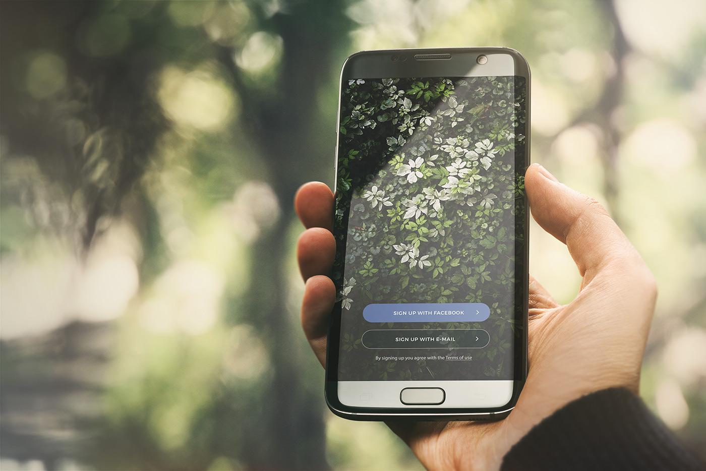04 android app mockup urban edition