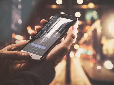 Smartphone App Mock-Up