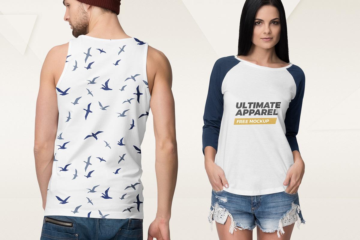 01 ultimate apparel mockup free demo