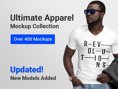 Ultimate Apparel Mockup Collection Updated!