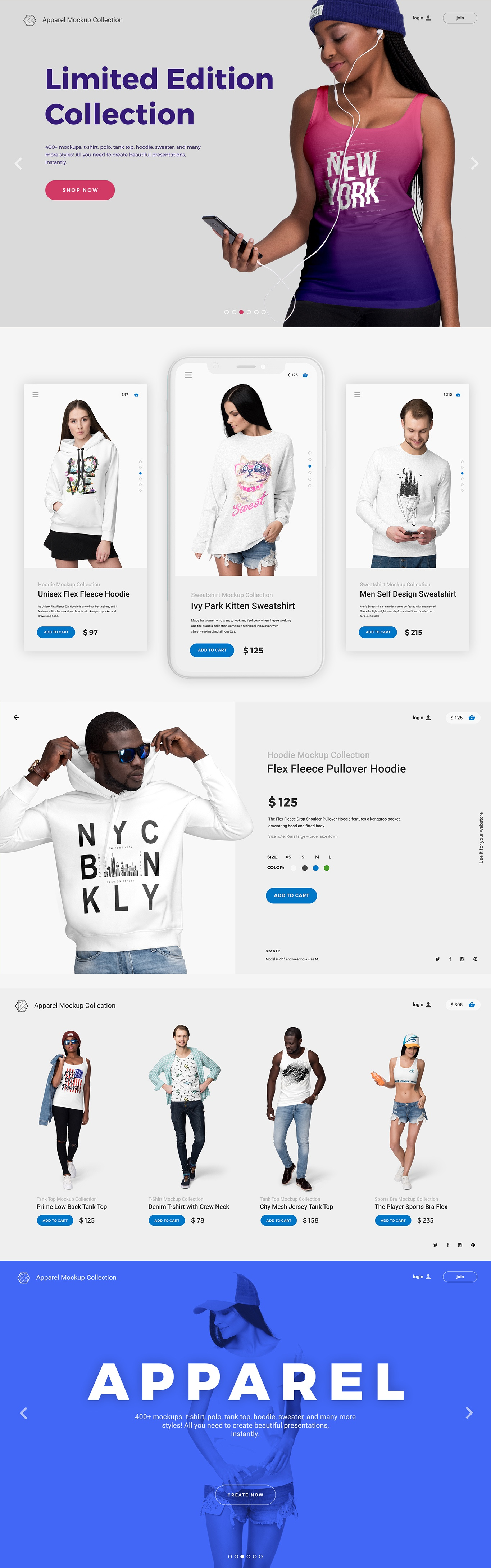 04 ultimate apparel mockup collection