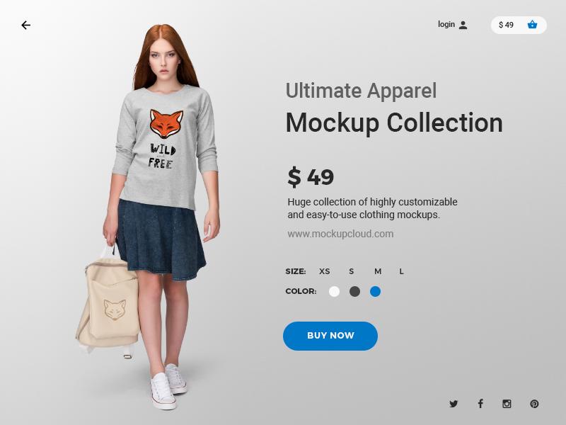 Ultimate Apparel Mopkup Collection clothing fashion psd tshirt mockup apparel template mock up mock-up mockup showcase t-shirt branding