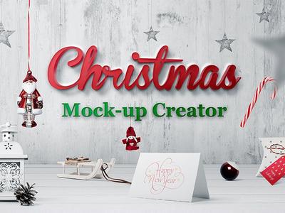 Christmass Mockup Creator