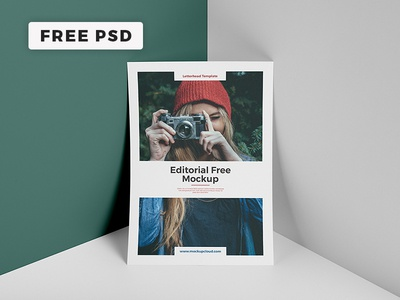Free Editorial Mockup Package