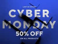🔋 Cyber Monday Sale on all mockups