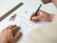 Logo Sketch Mockup