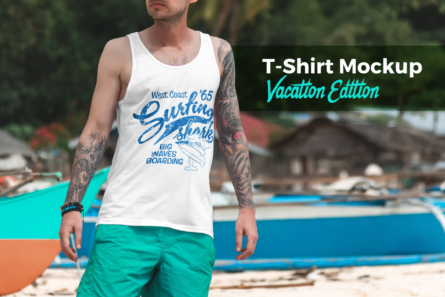 00 t shirt mockup vacation edition