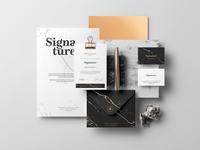 Signature Branding Mockup